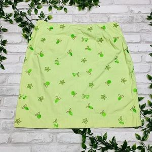 Lily Pulitzer Green Skirt